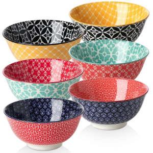 6 Piece Dining Bowl Set