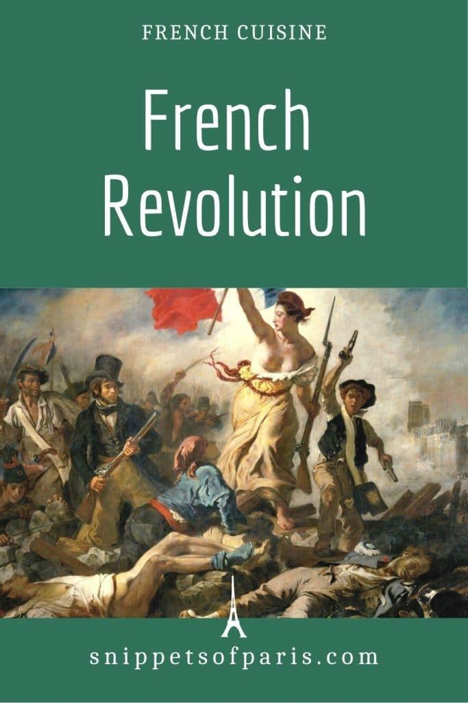 french revolution - pin for pinterest