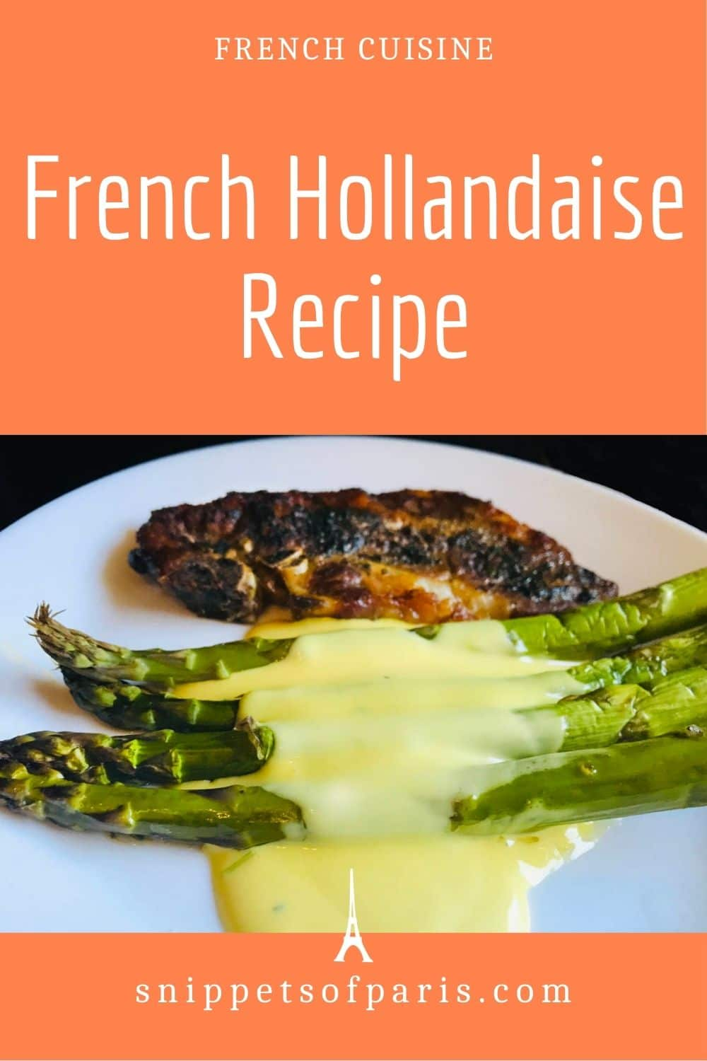 Easy French Hollandaise sauce recipe