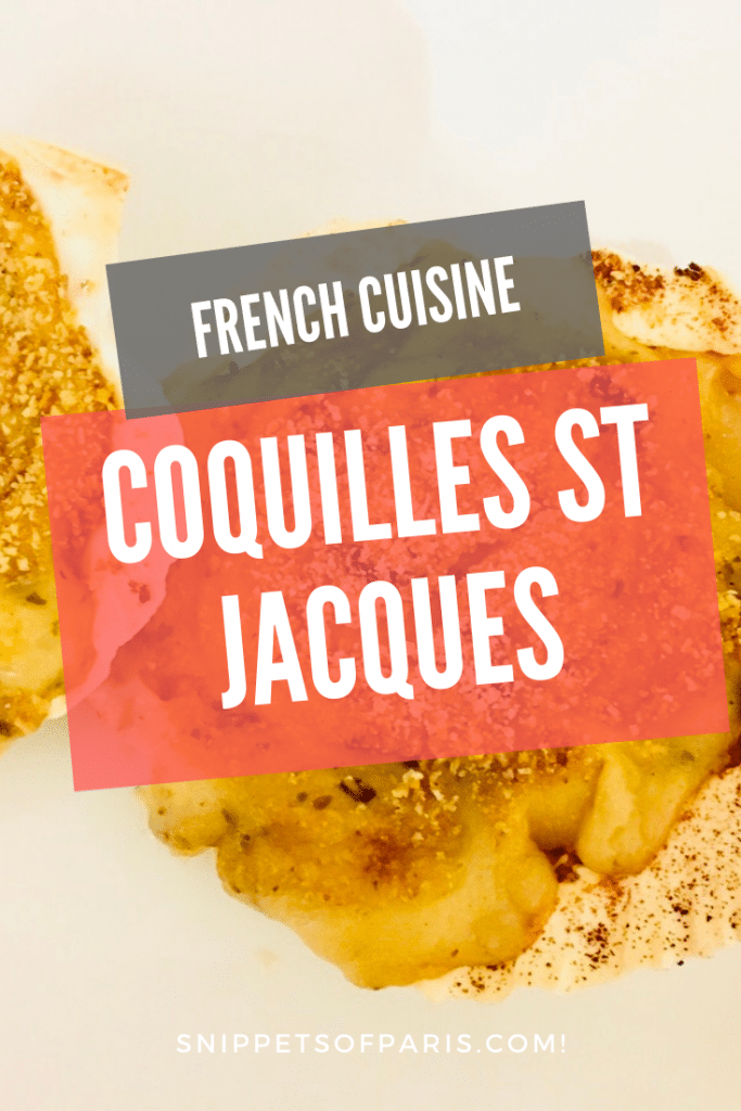 coquilles st jacques au gratin recipe - pin for interest
