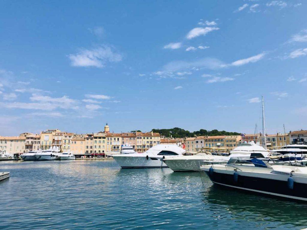 Yachts in St. Tropez