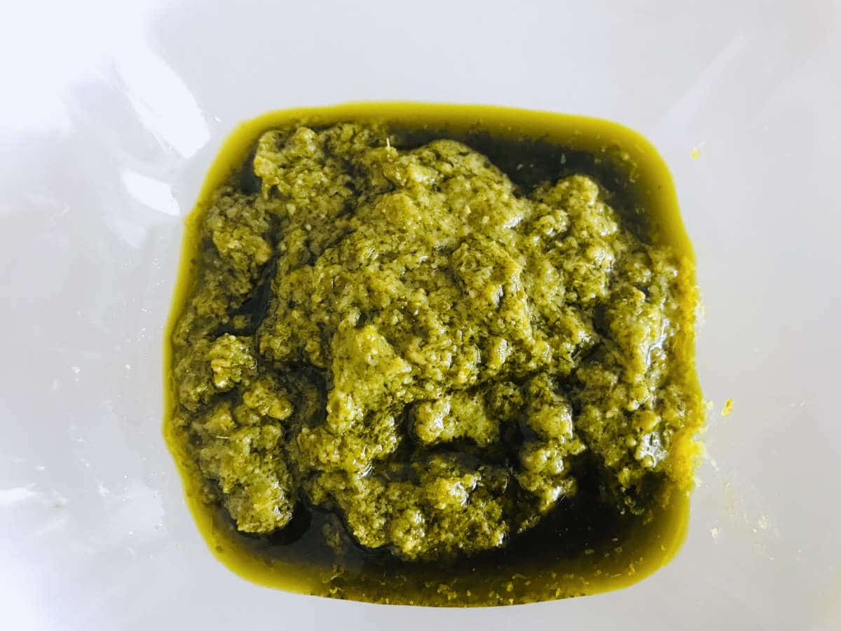 Home-made Pistou sauce recipe from Provence