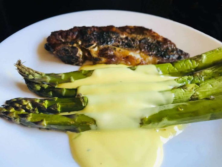 Easy French Hollandaise sauce recipe 1