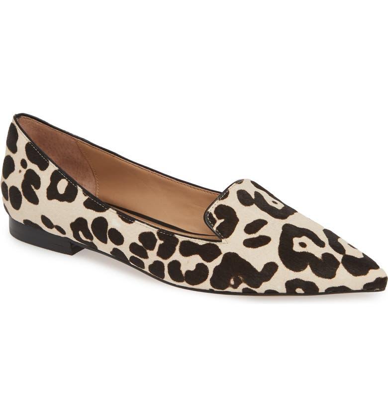 Leopard design Loafers