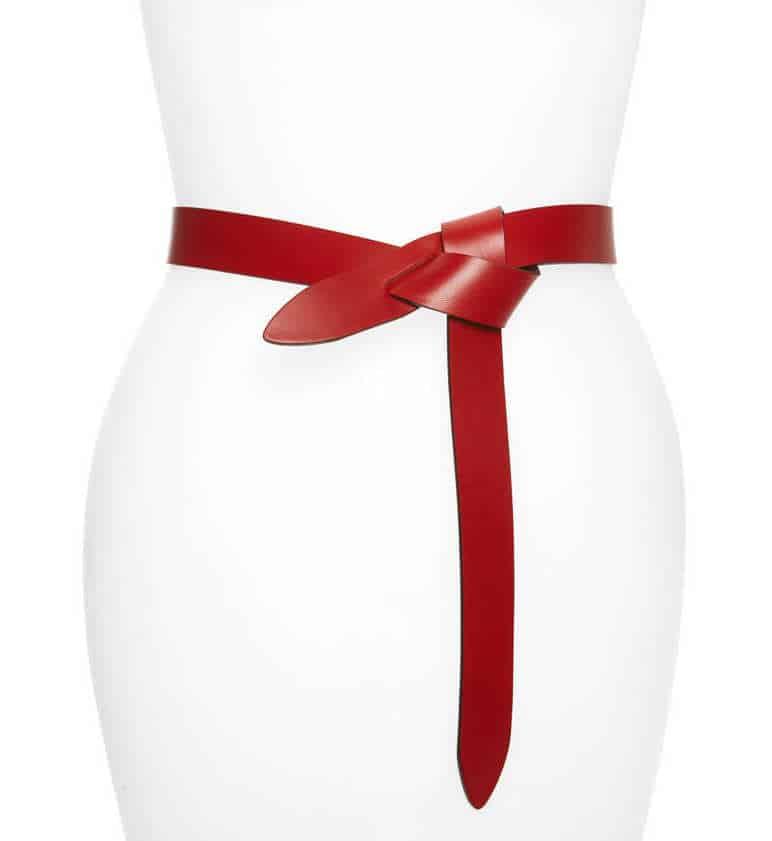 isabel marant red belt