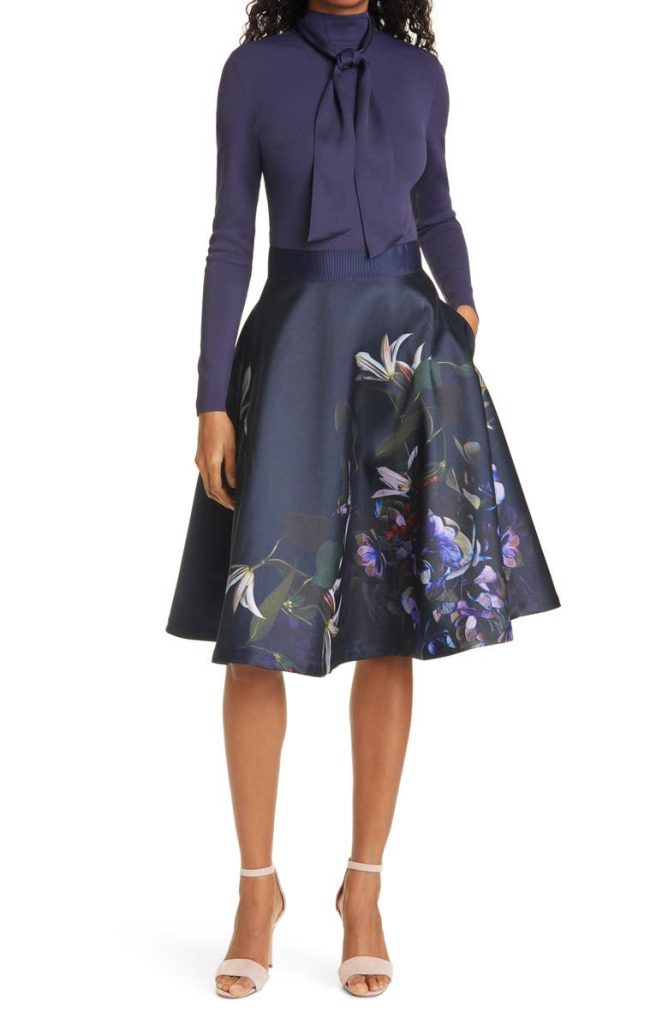 Ted Baker Fit and Flair dress