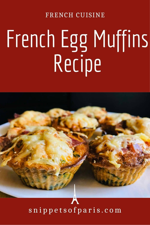 French Egg Muffins Recipe (Oeufs au four)