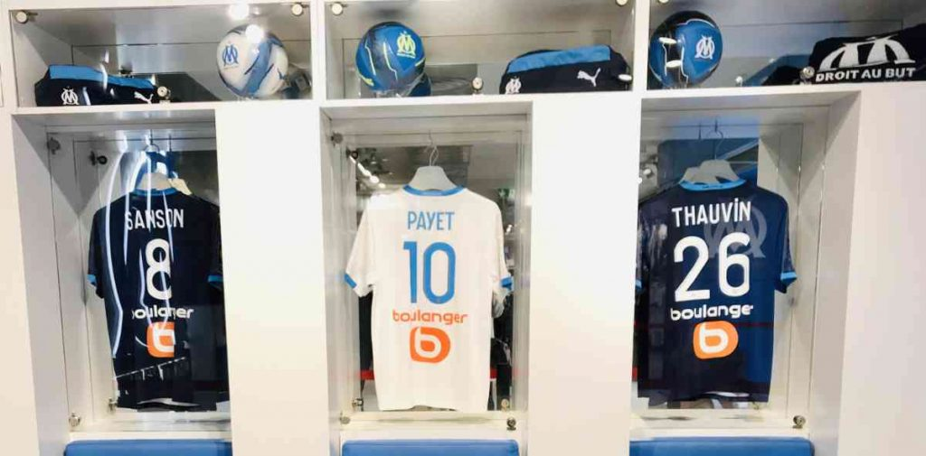 football locker room