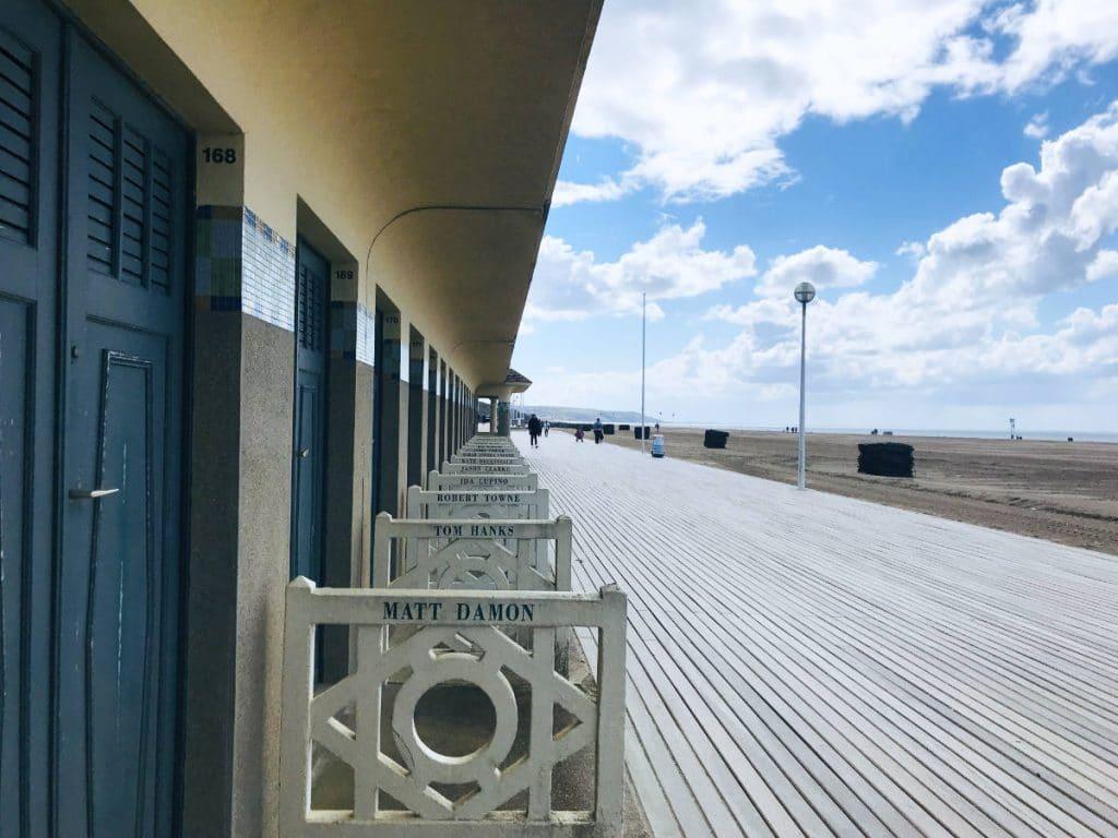 Deauville boardwalk