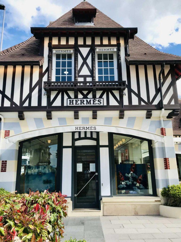 Hermes shop in Deauville