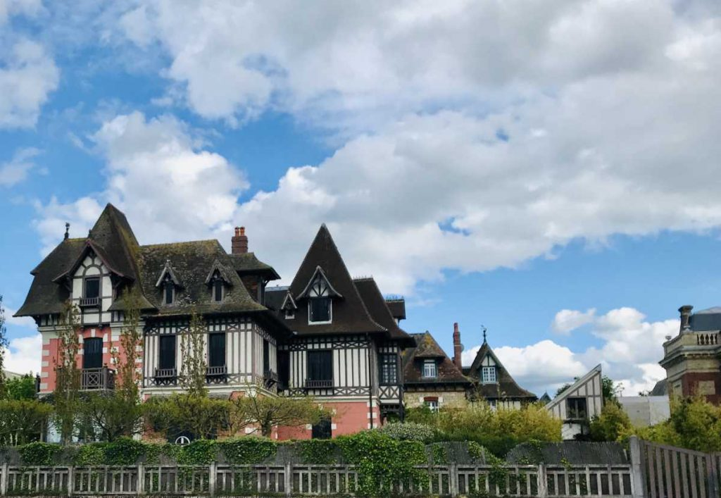 traditional home in Deauville