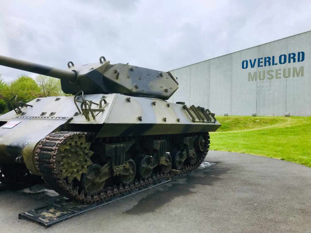 Tank at the Overlord Museum