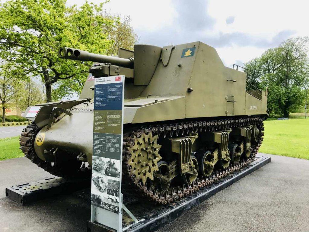 Canadian tank on Dday