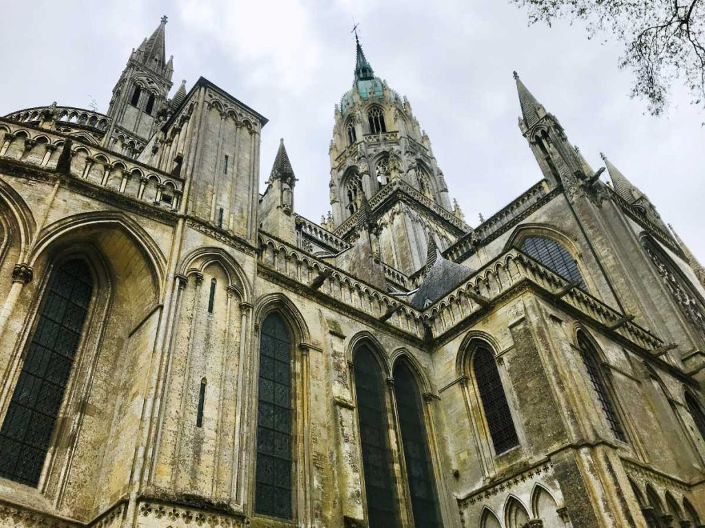 Bayeux Cathedral in Normandy