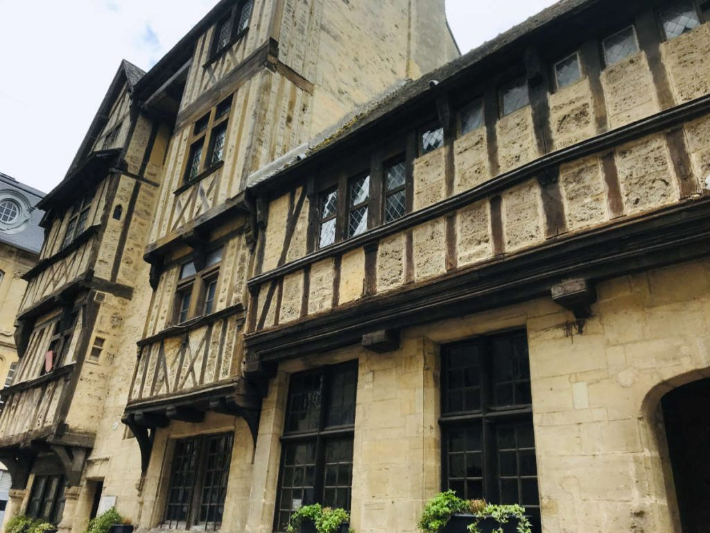 Old buildings in Bayeux