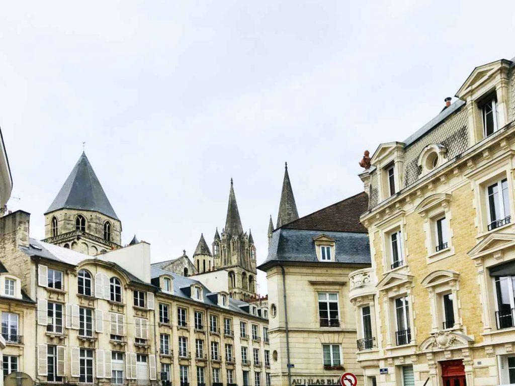 Caen city center