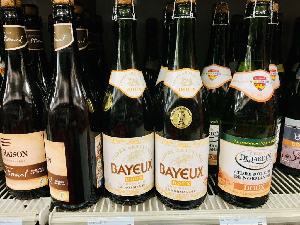 Bayeux cider of Normandy