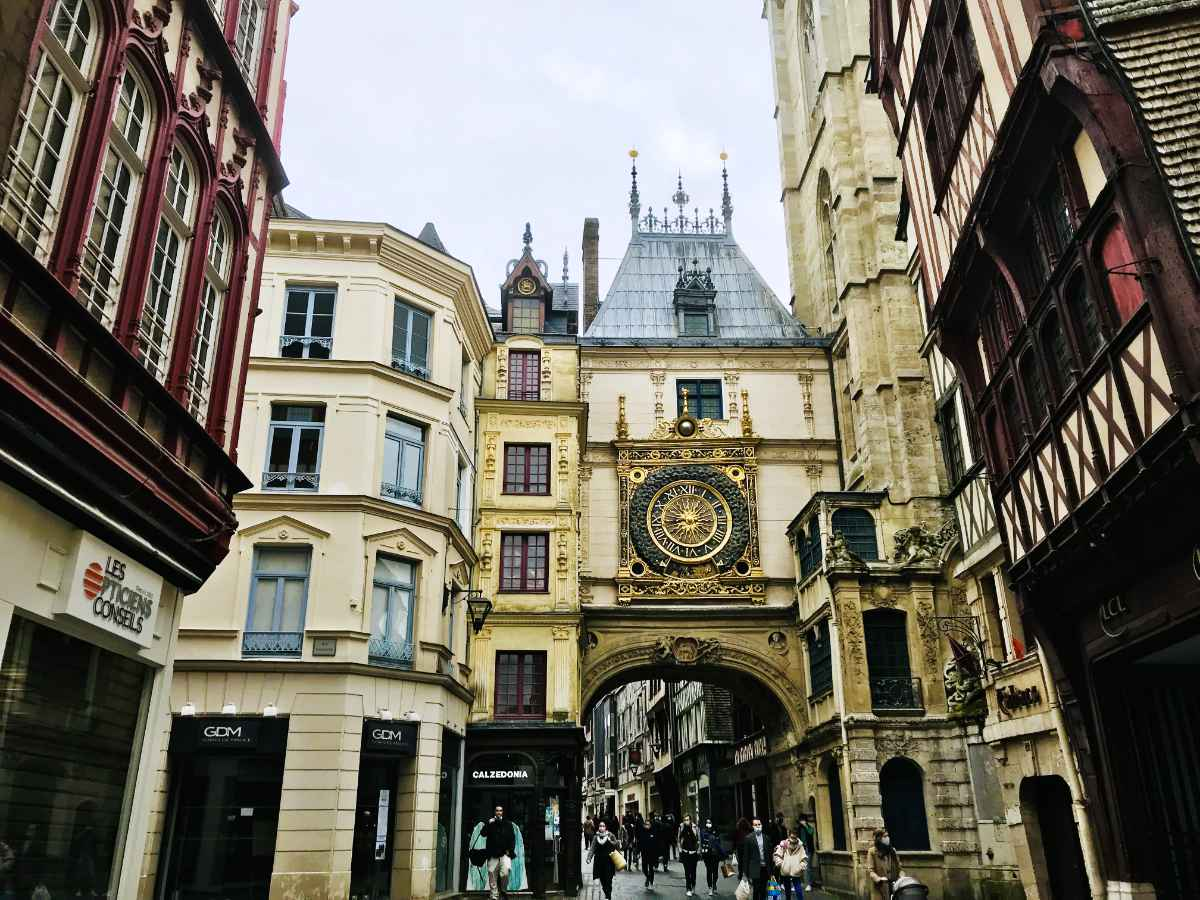 Visiting Rouen in Normandy with Joan of Arc
