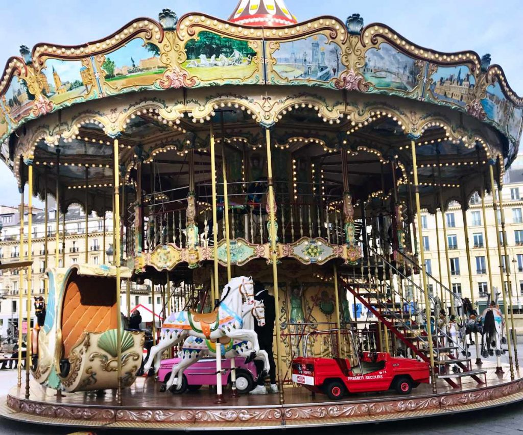 the French merry-go-round