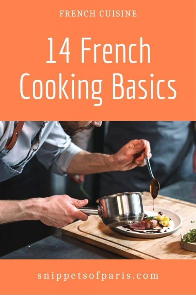 French cooking basics - pin for pinterest