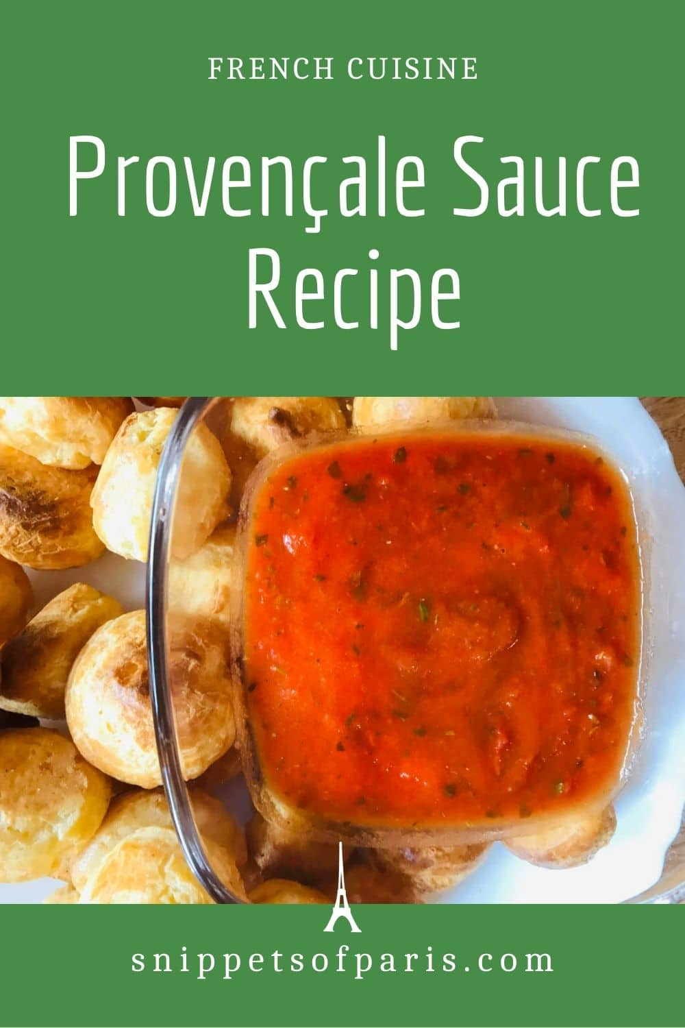 Simple Tomato Provençale sauce recipe from France