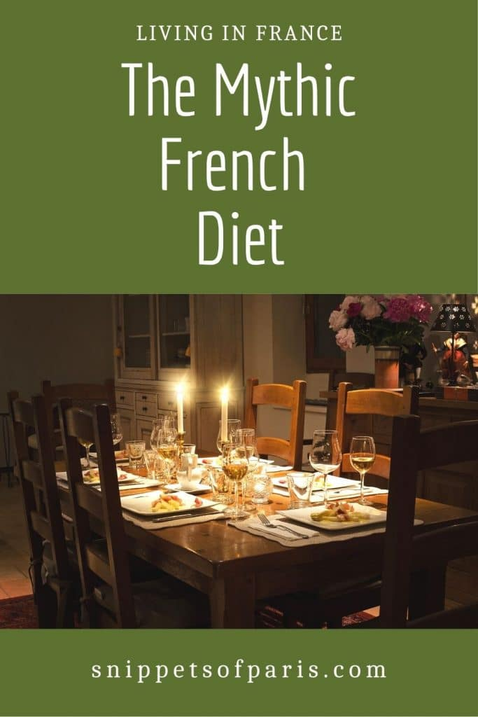 French diet - pin for pinterest