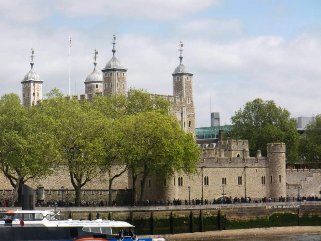 Tower of London built by William the Conqueror