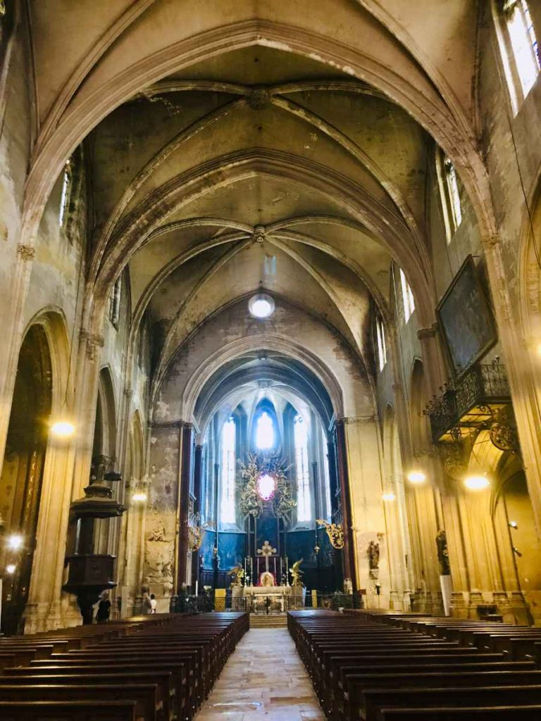 Carpentras cathedral