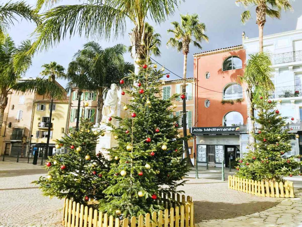 Sanary sur mer at Christmas
