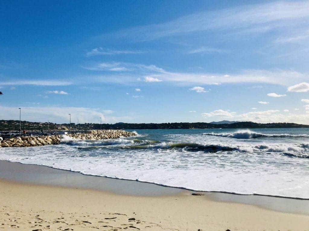 Plage des Sablettes beach