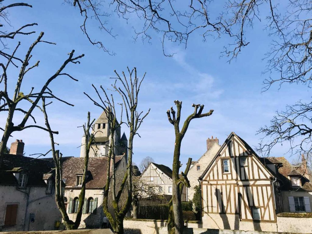 Old houses in Provins