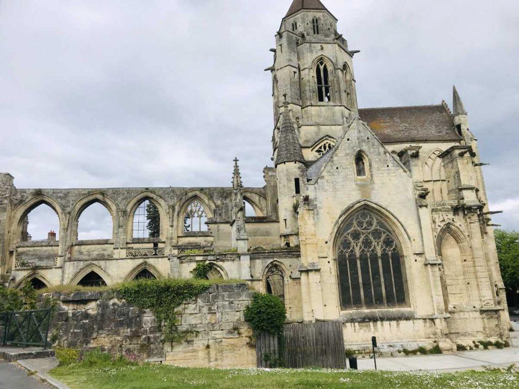Old Stephen's Church in Caen