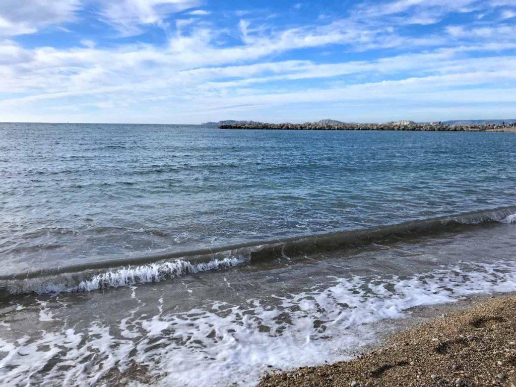 plage de corniche, sète
