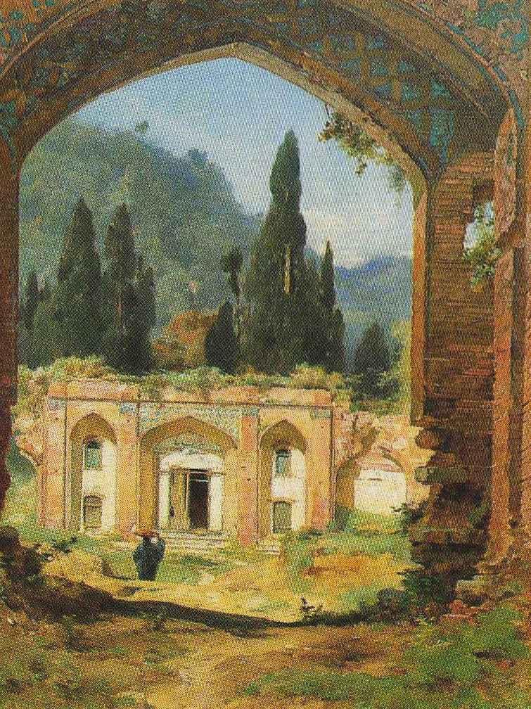 Les Ruines du palais d'Aschroff by Jules Laurens