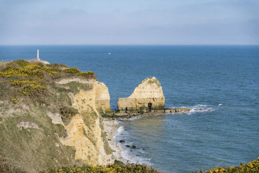 Point du Hoc in Normandy, France
