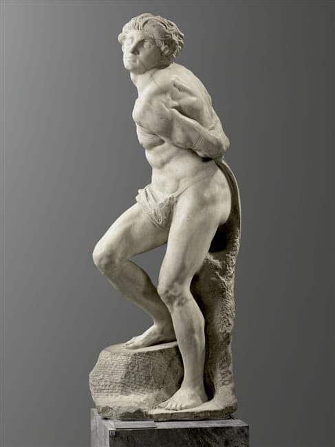Michelangelo's Rebellious Slave (Denon Wing, Level 0)
