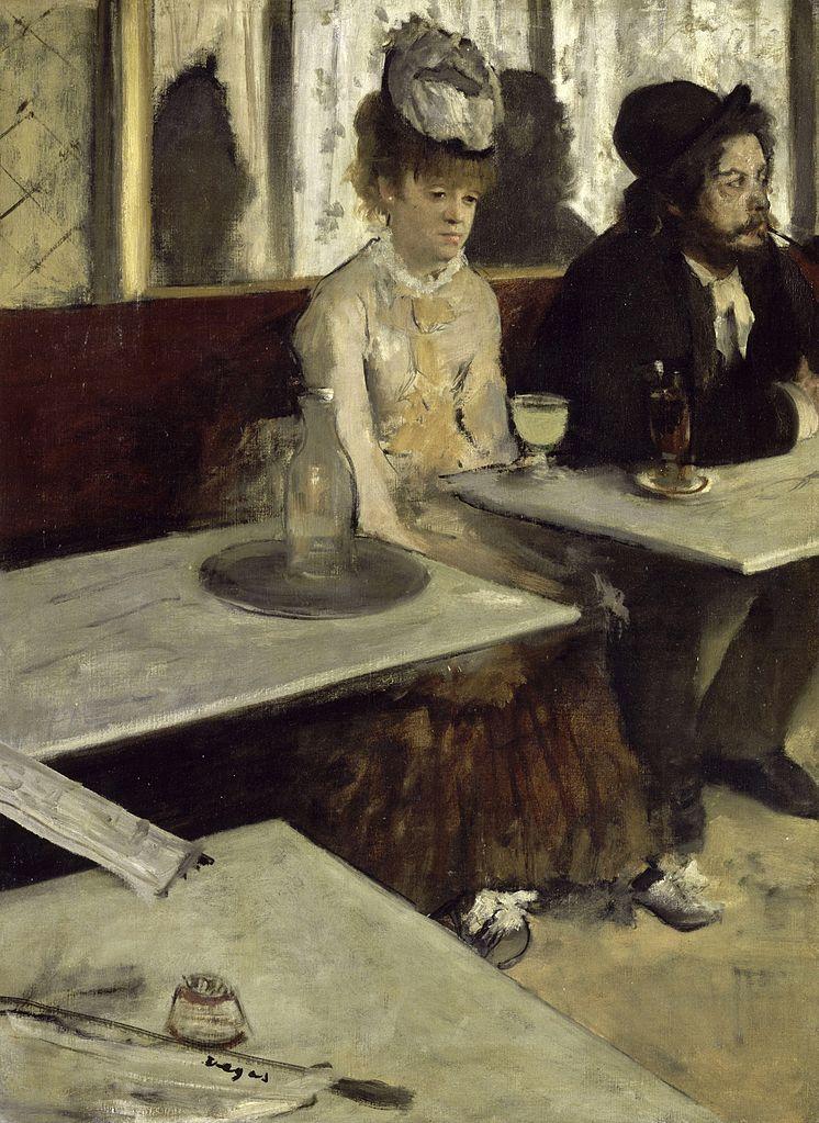 Edgar Degas's The Absinthe Drinker