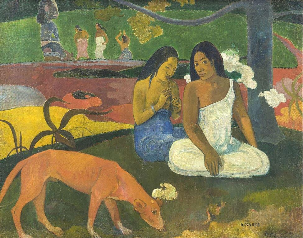 Arearea by Paul Gauguin