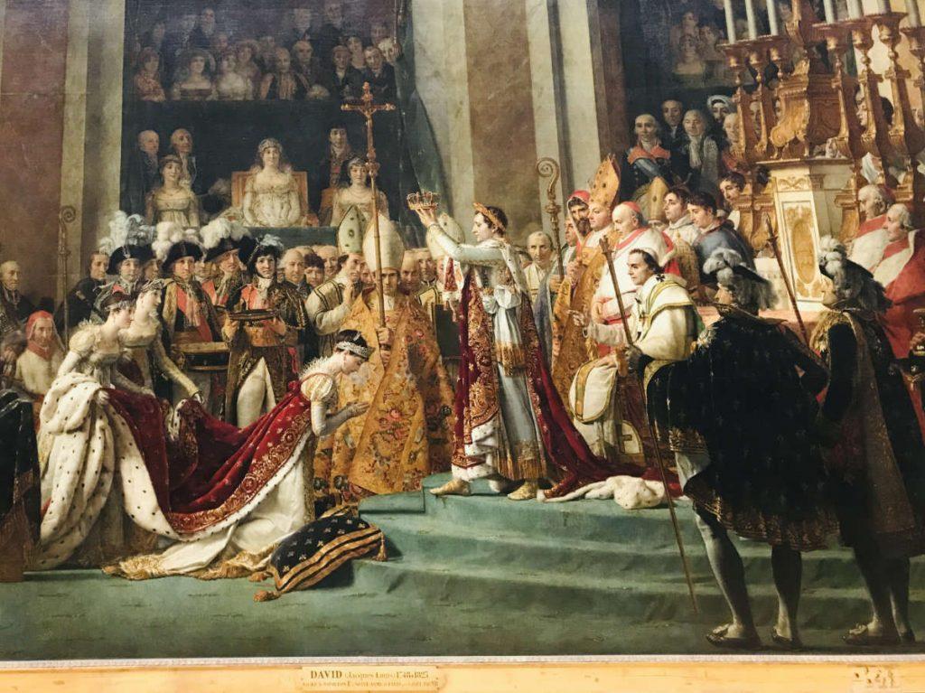 Napoleon Bonaparte and the Coronation of Empress Joséphine