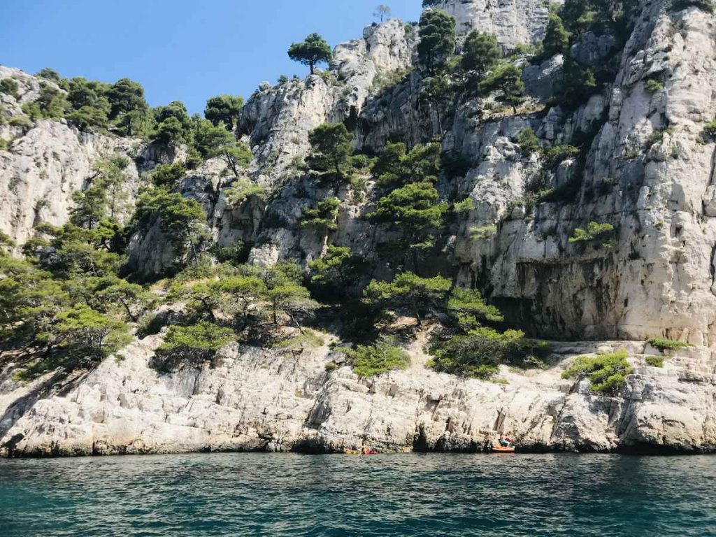 calanques near Marseille, Provence