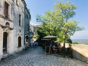 alley in baux de provence
