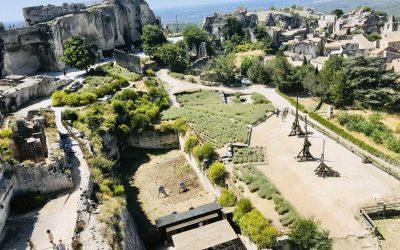 Visiting Les Baux de Provence and Carrières de Lumières