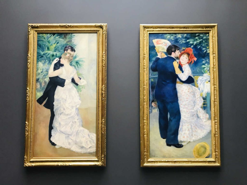 Dance in the City and Dance in the Country by Auguste Renoir