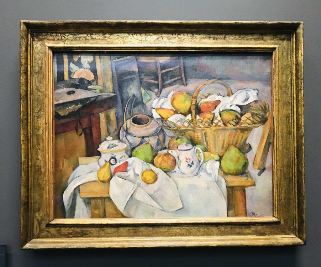 La Table de cuisine by Paul Cézanne, musée d'Orsay,