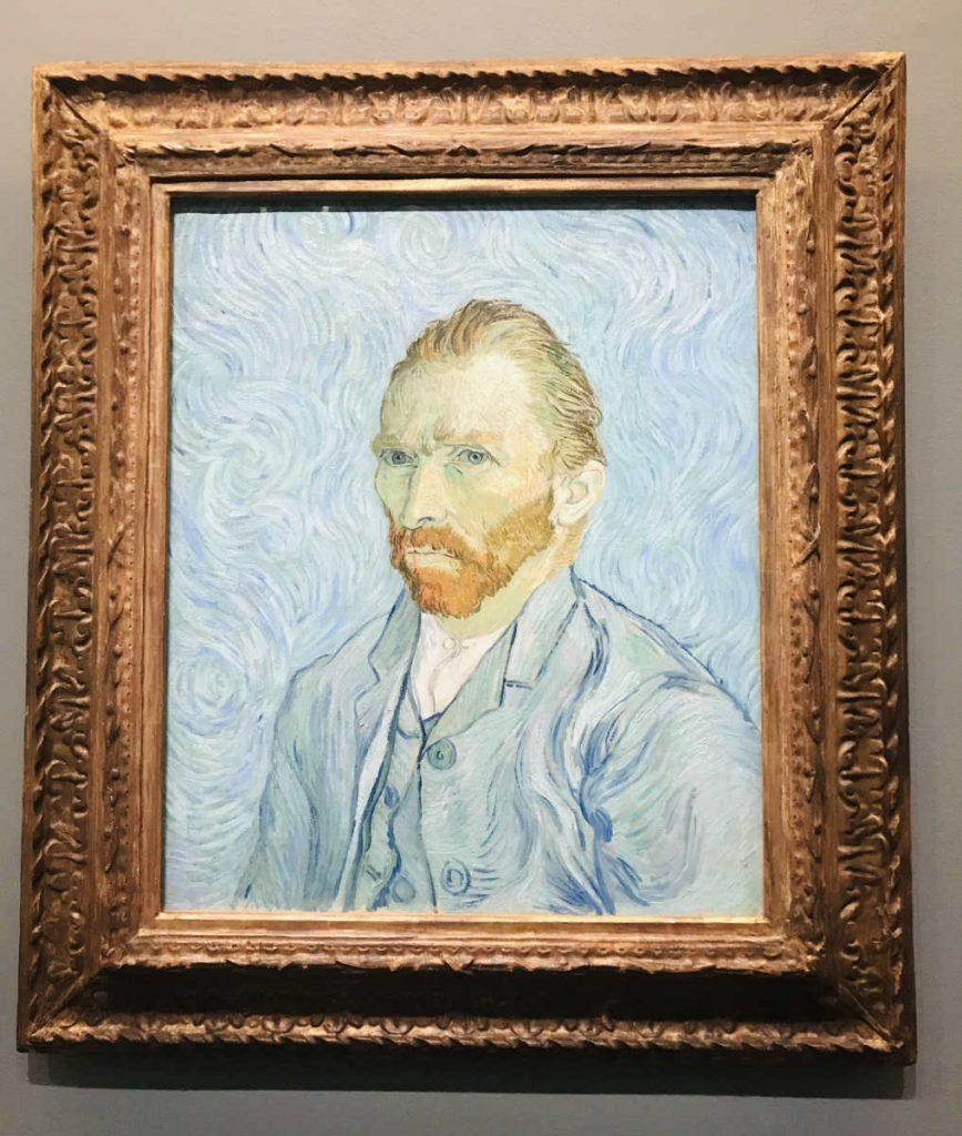 Self Portrait by Van Gogh