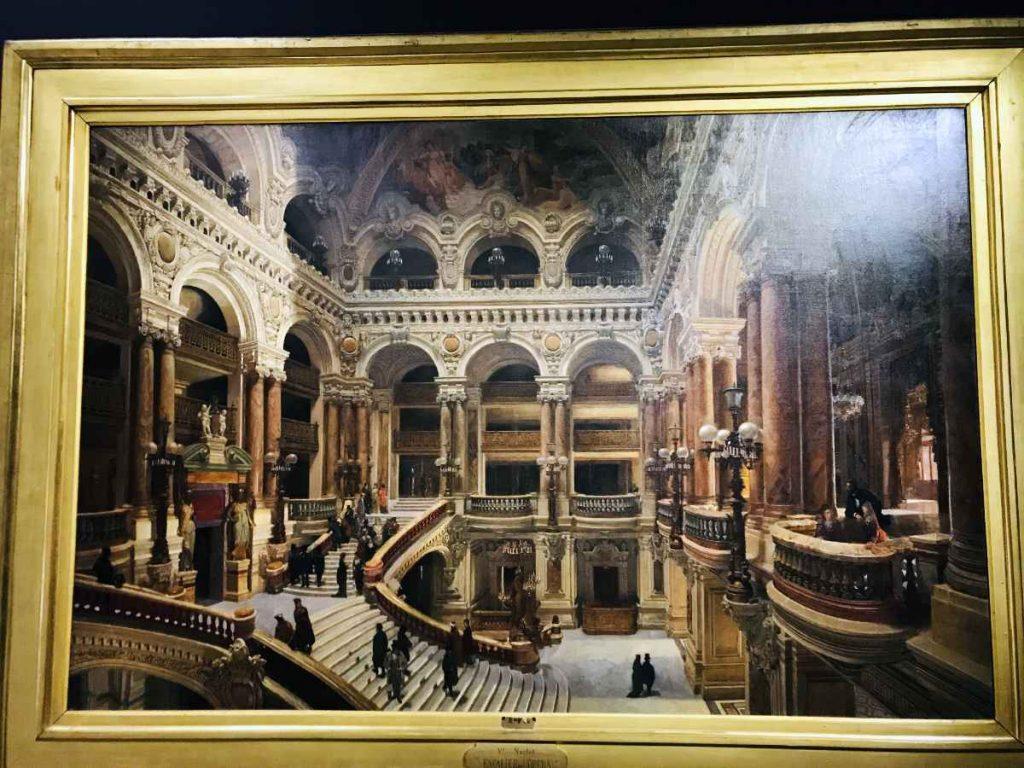 Victor Navlet. L'Escalier de l'Opéra Garnier