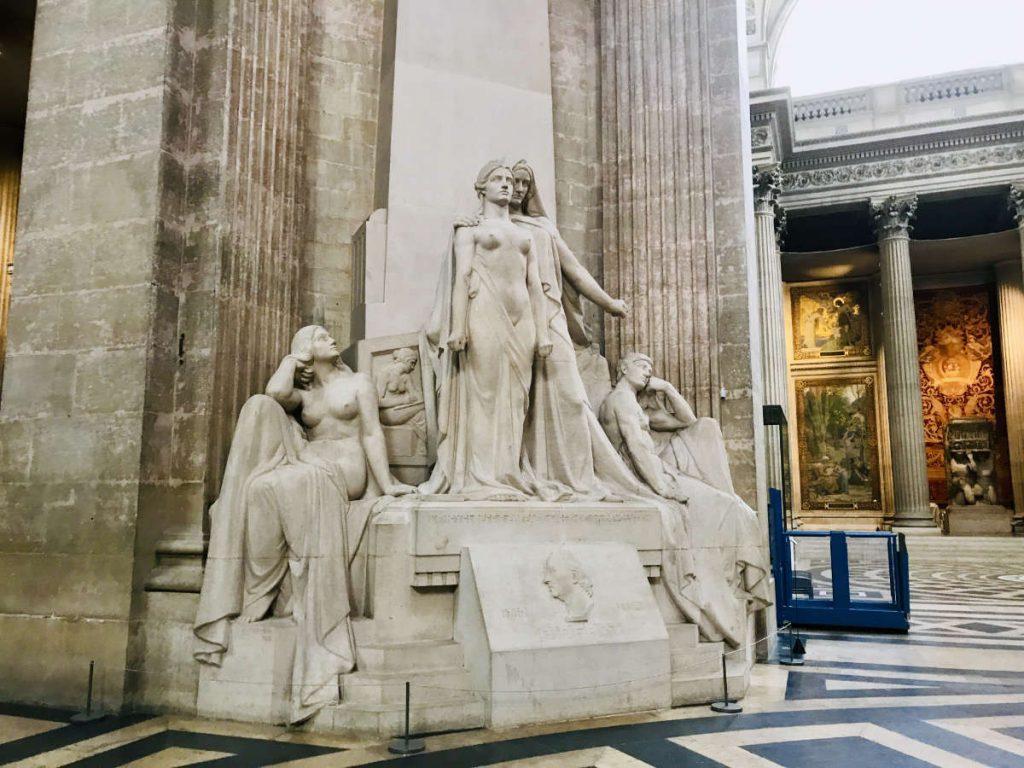 Statue - A Diderot et aux Encyclopédistes