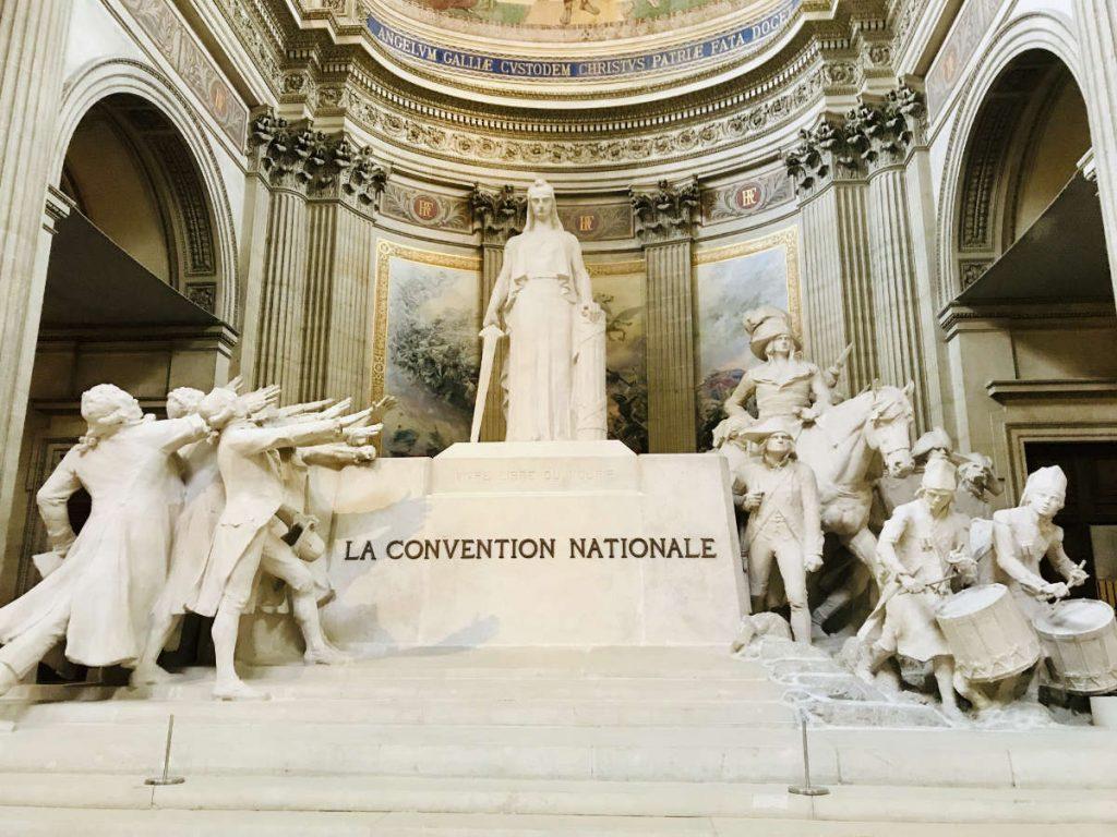 Statues - La Convention nationale