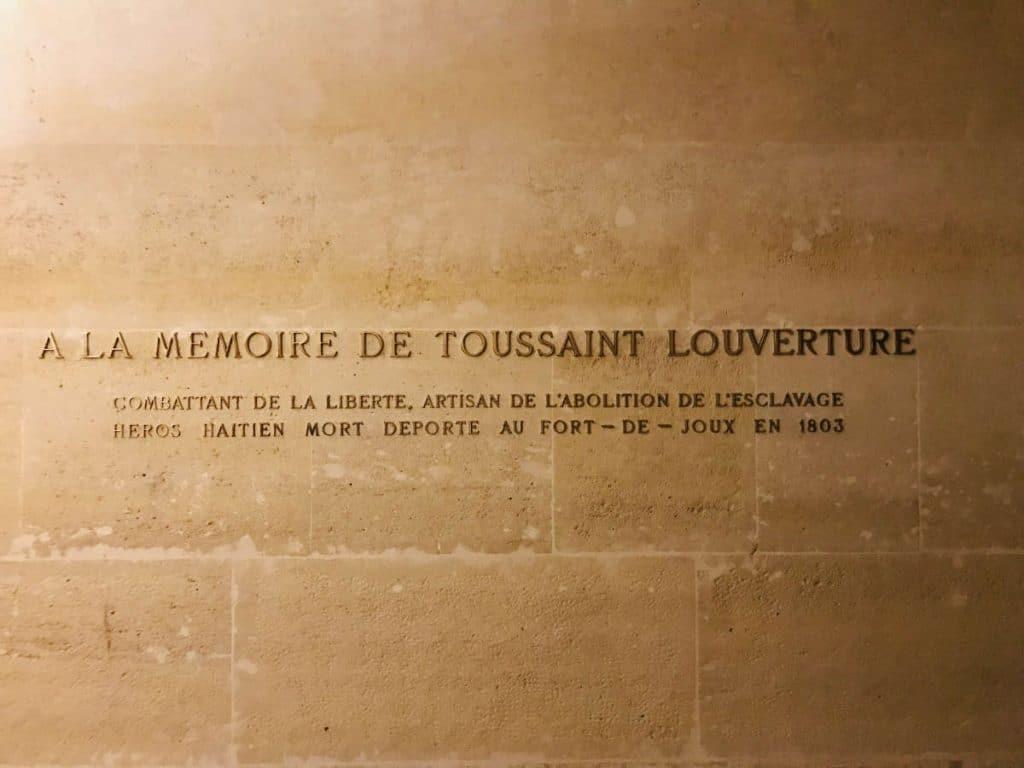 Memorial to Toussaint Louverture