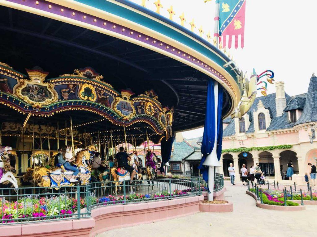 Merry-go-round at disney